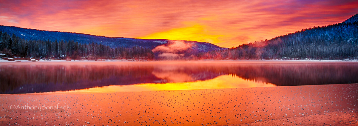Bass Lake Sunrise